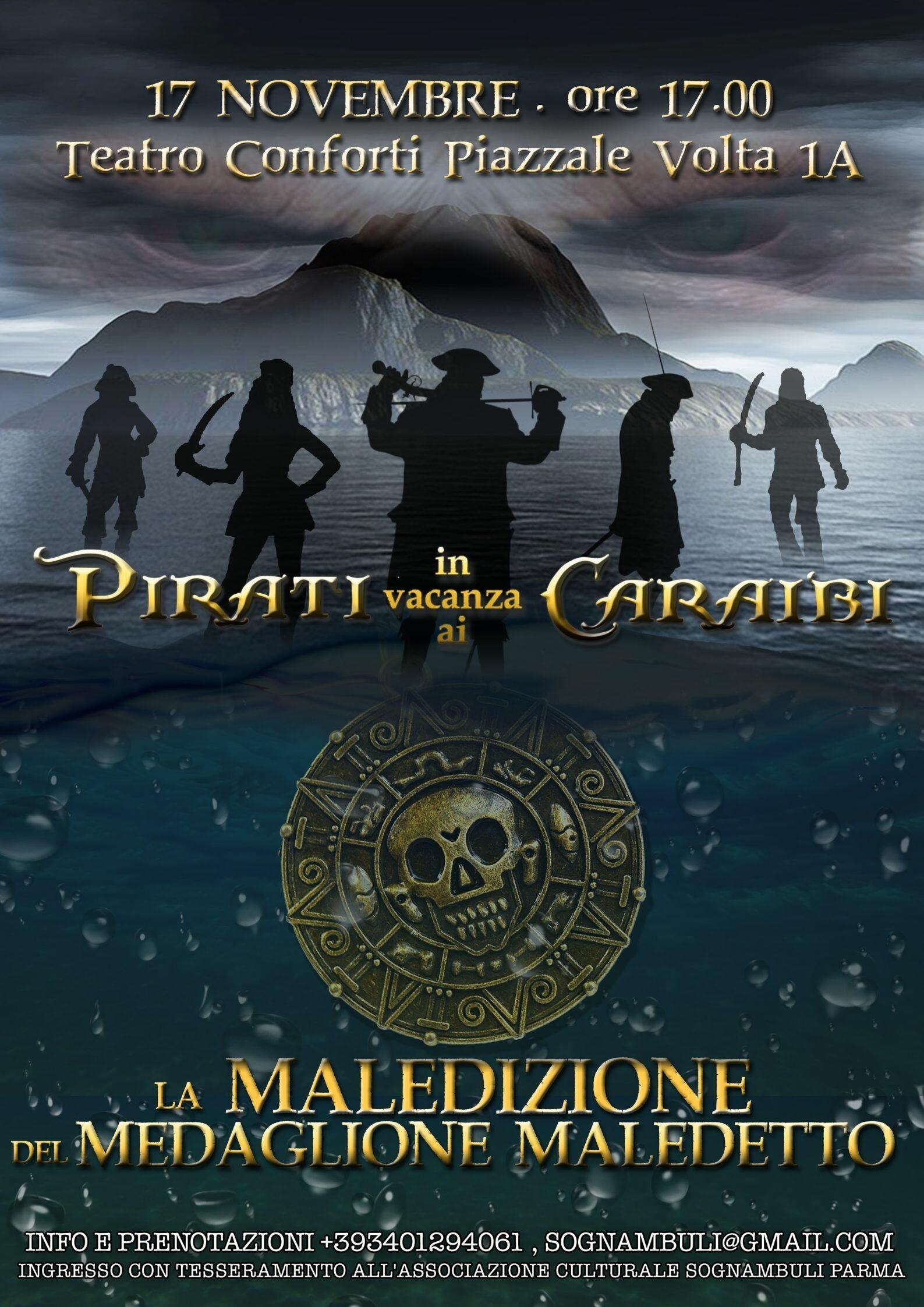 Pirati in Vacanza ai Caraibi La Maledizione del Medaglione Maledetto