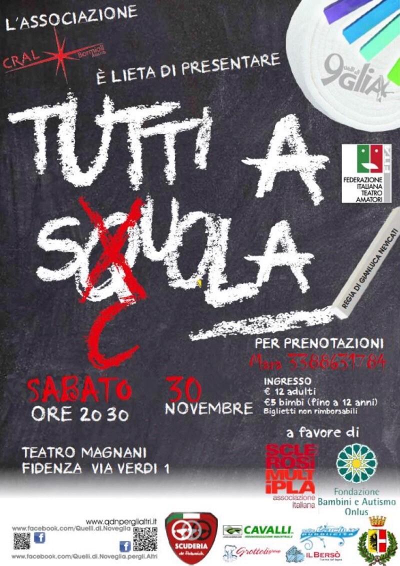 Tornano Quelli di Noveglia con lo spettacolo – Tutti a sQuola al Teatro Magnani