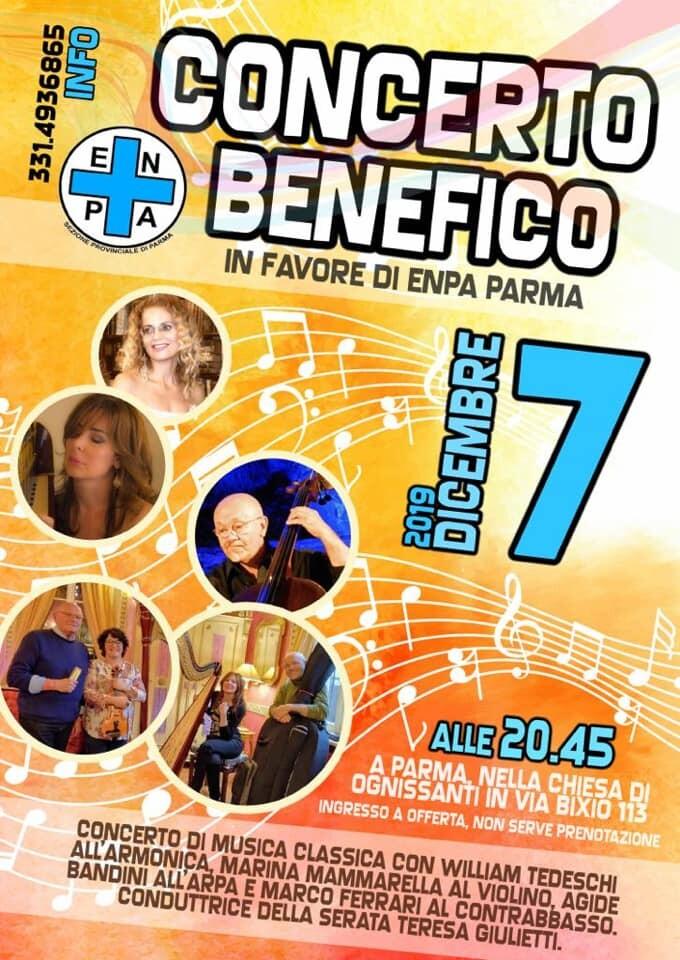 Concerto benefico a favore dell'ENPA nella chiesa di Ognissanti