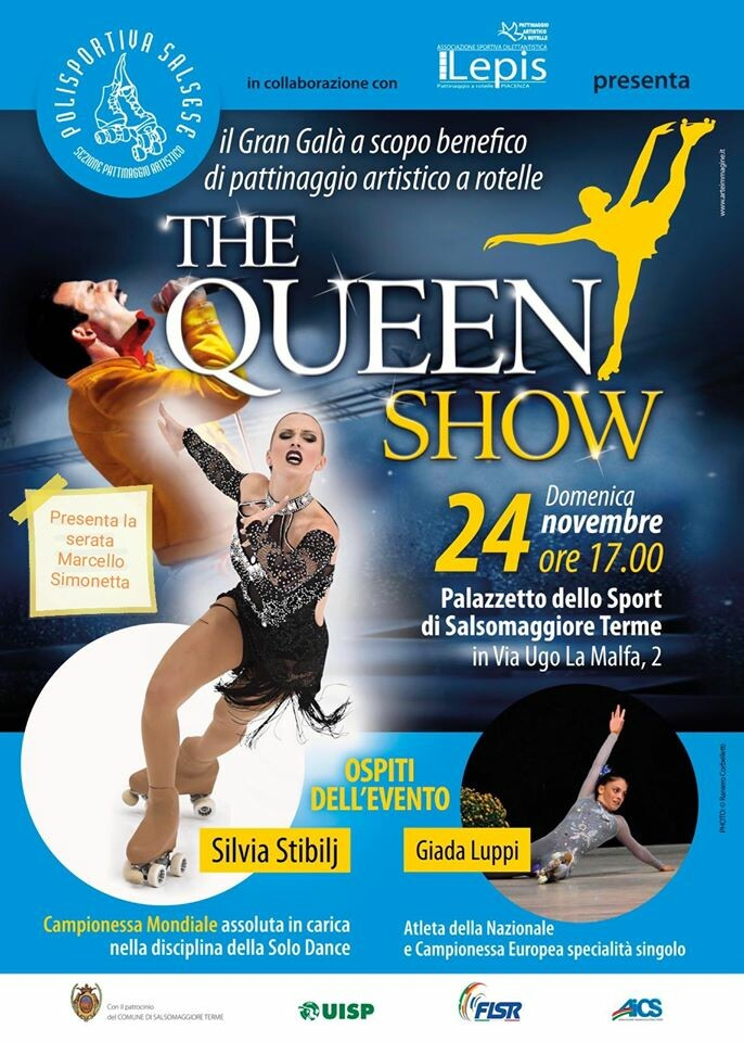 The Queen show Gran gala benefico di pattinaggio