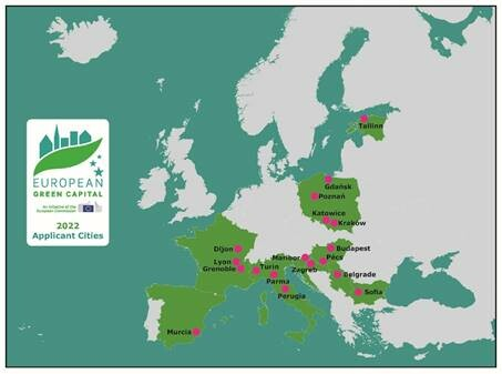 Growing interest in 'going green': record number  of cities apply for European green city awards