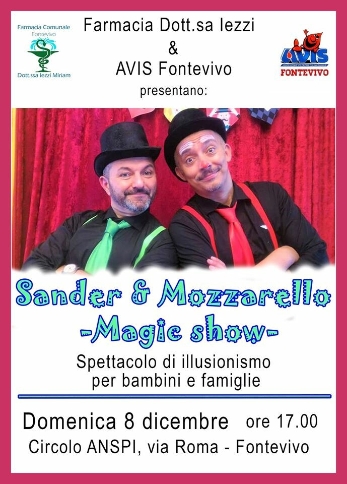 Sander & Mozzarello Magic Show