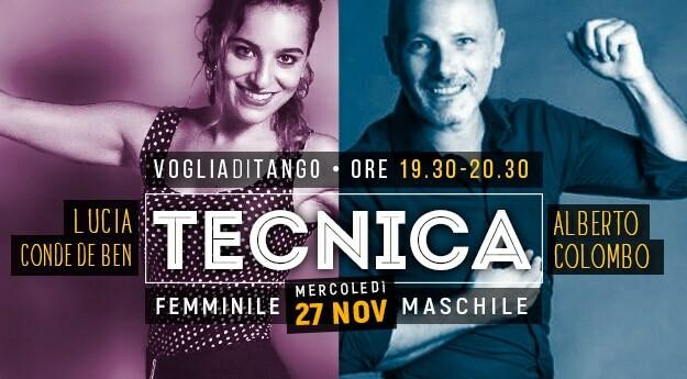 Tecnica Femminile Lucia Conde e Tecnica Maschile Alberto Colombo