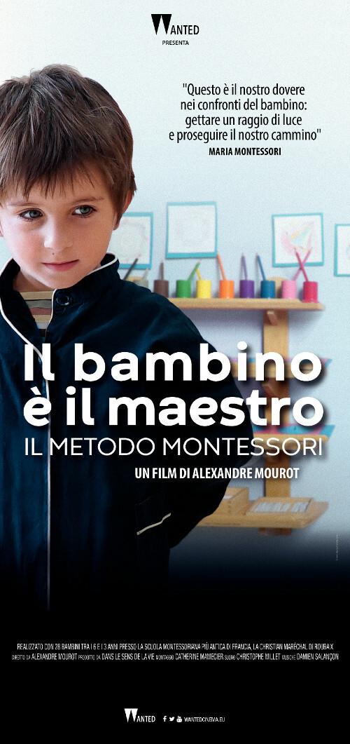 L BAMBINO E' IL MAESTRO-Il metodo Montessor al Cinema D'Azeglio