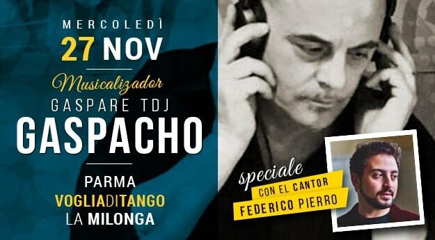 Milonga Voglia di Tango con Federico Pierro Tdj Gaspare Gibaldi