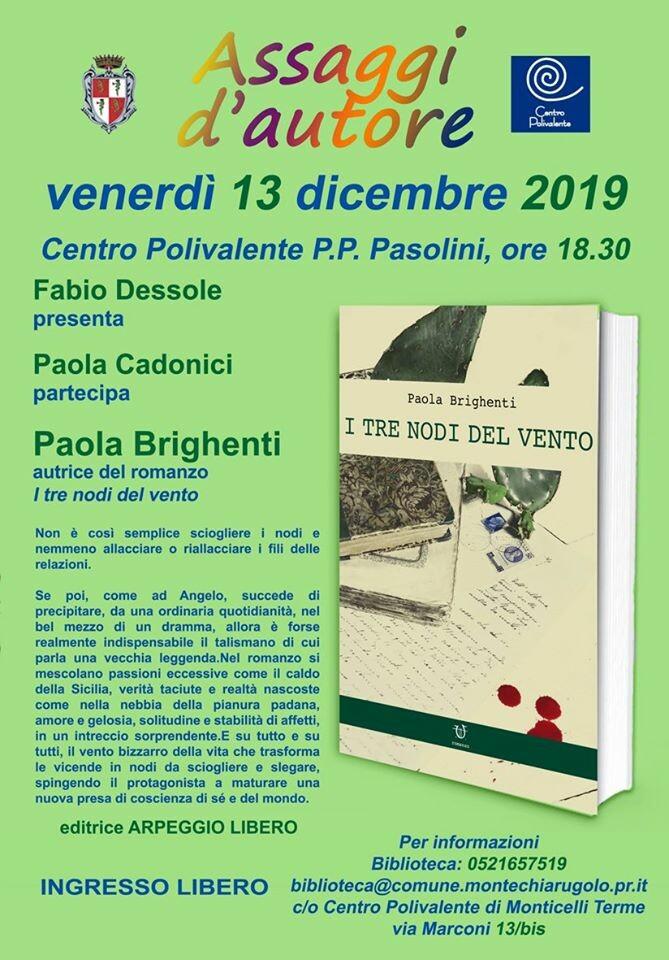 Assaggi d'autore al centro polivalente di Monticelli