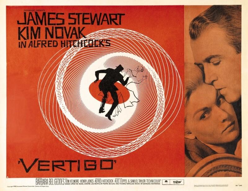 VERTIGO - LA DONNA CHE VISSE DUE VOLTE  di Alfred Hitchcock  (USA, 1958 - 128')  Versione restaurata dalla Cineteca di Bologna al cinema Edison Parma
