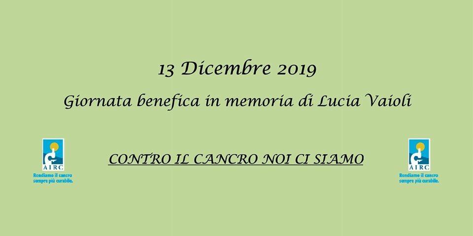 Giornata benefica in memoria di Lucia Vaioli