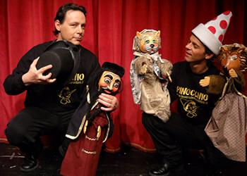 'Pinocchio, le Avventure di un sognatore' al Teatro Crystal