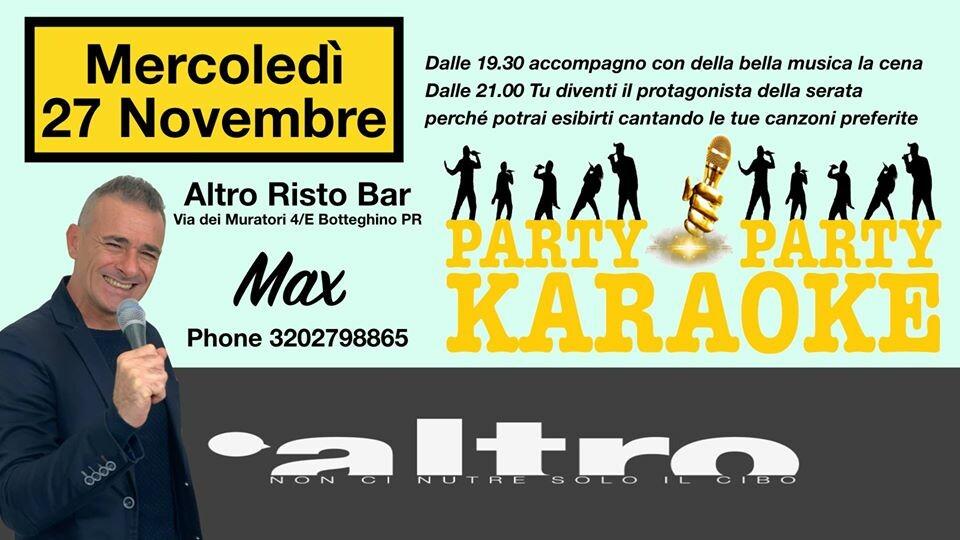 Karaoke Party all'Altro - risto-pub