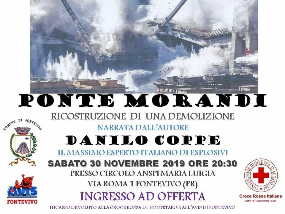 Ponte Morandi: ricostruzione di una demolizione narrata dall'autore Danilo Coppe, il massimo esperto italiano di esplosivi.