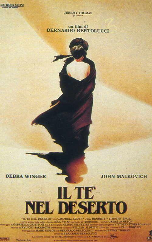 Il tè nel deserto di Bernardo Bertolucci al Cinema D'Azeglio