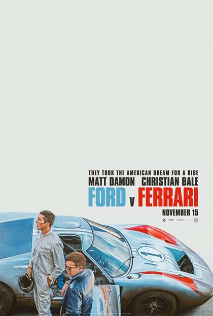 """""""The Original Ones""""  FORD VS FERRARI (Le Mans '66-La grande sfida"""
