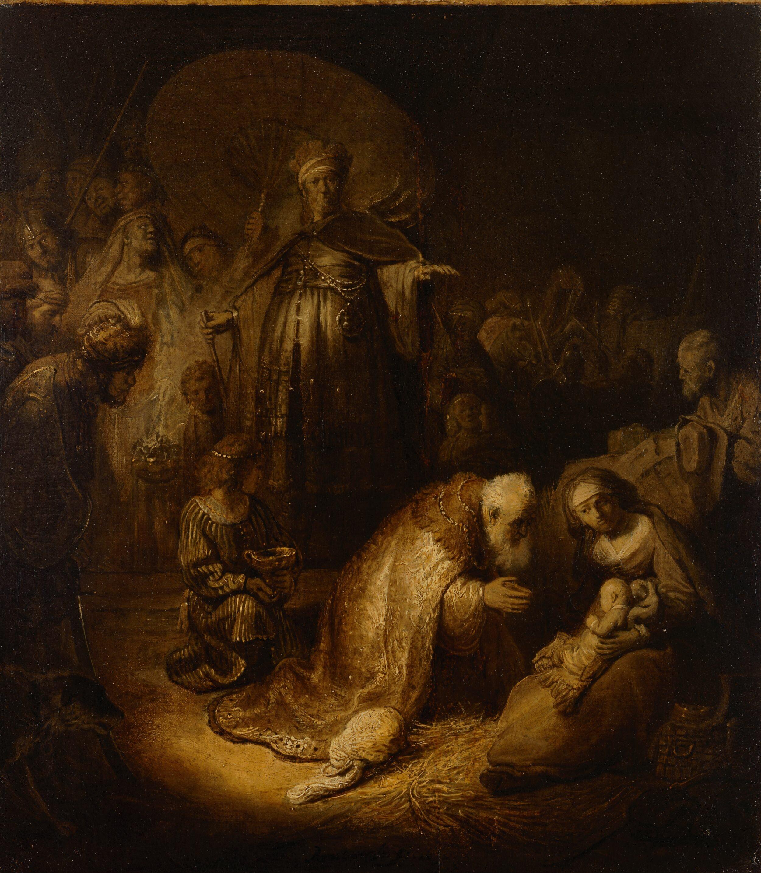Un Rembrandt dall'Ermitage in Pilotta. 1669 -2019: 350 anni dalla morte del maestro