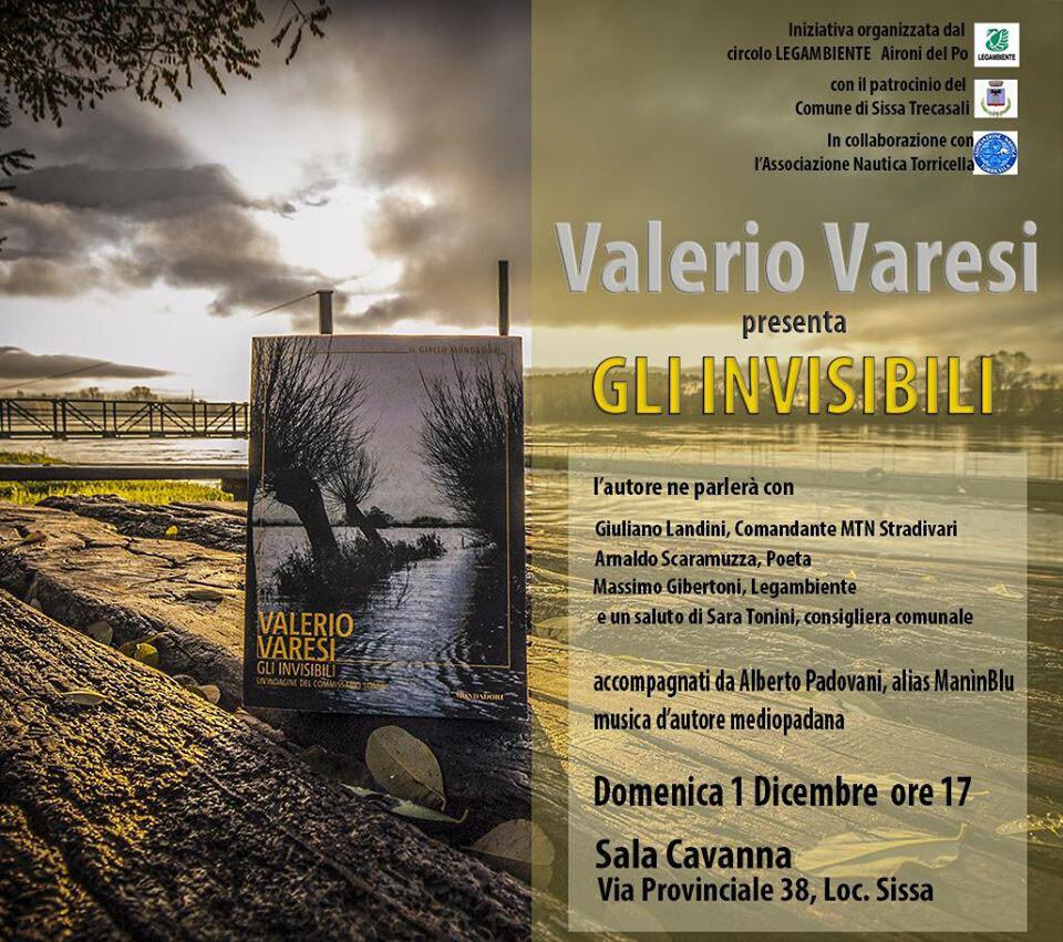 """Valerio Varesi presenta il suo ultimo libro """"Gli invisibili"""""""