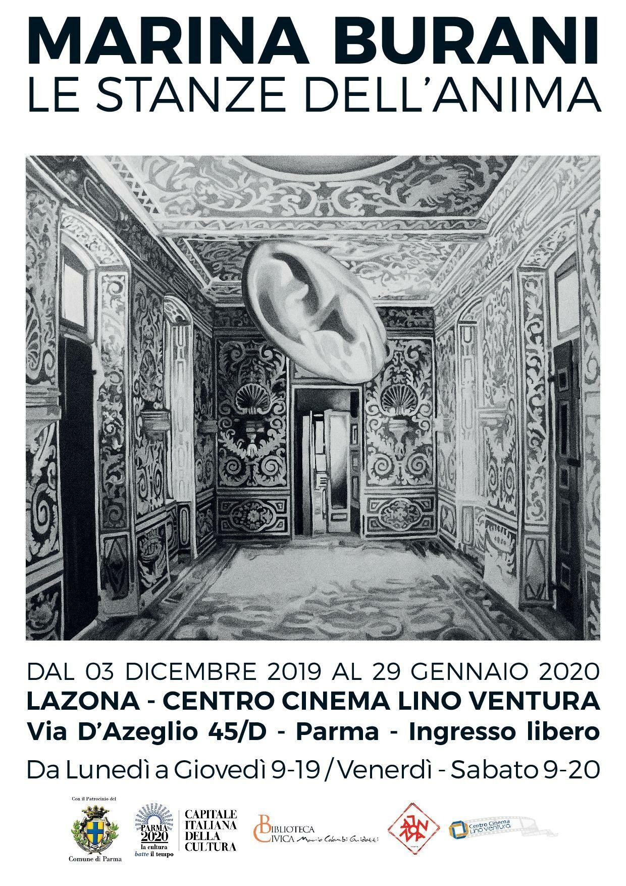 """""""Le stanze dell'anima"""" Le tele dell'artista Marina Burani  in mostra   nello spazio espositivo LaZona"""