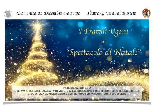 Spettacolo di Natale al Teatro Giuseppe Verdi