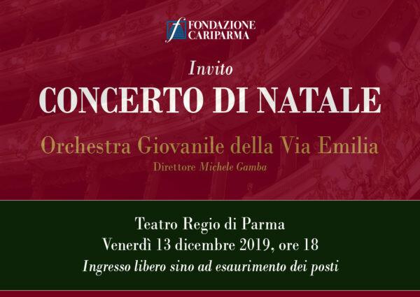 Concerto di Natale al Teatro Regio