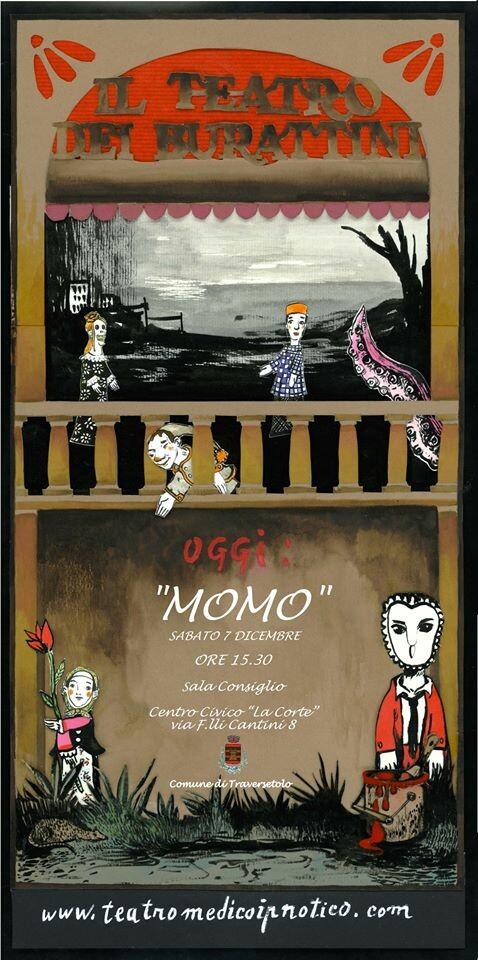 Momo, spettacolo di burattini per bambini e famiglie