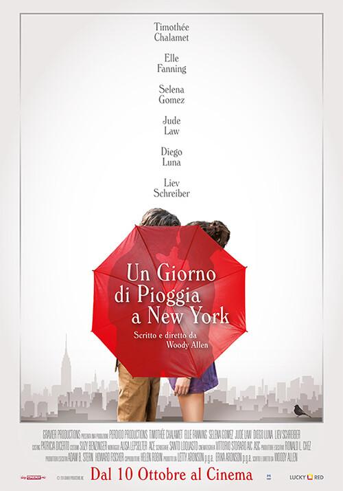 Un giorno di pioggia a New York di Woody Allen al Cinema D'Azeglio