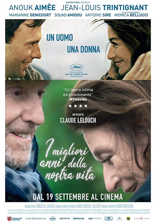 I MIGLIORI ANNI DELLA NOSTRA VITA Regia: Claude Lelouch al cinema Grand'Italia