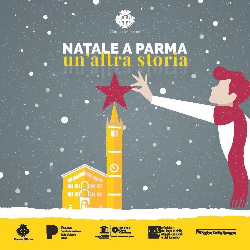 """""""Natale a Parma – Un'altra storia""""  Un ricco programma di eventi in città nel periodo delle festività natalizie"""