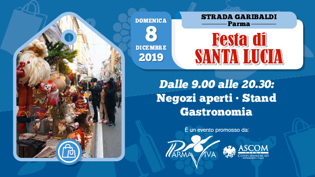Festa di Santa Lucia  in Via Garibaldi