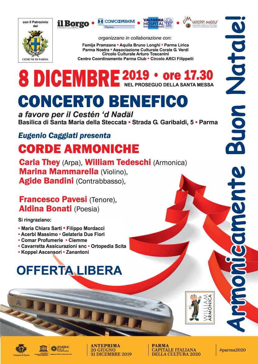 """Concerto """"Armonicamente Buon Natale"""" nella Basilica della Steccata"""