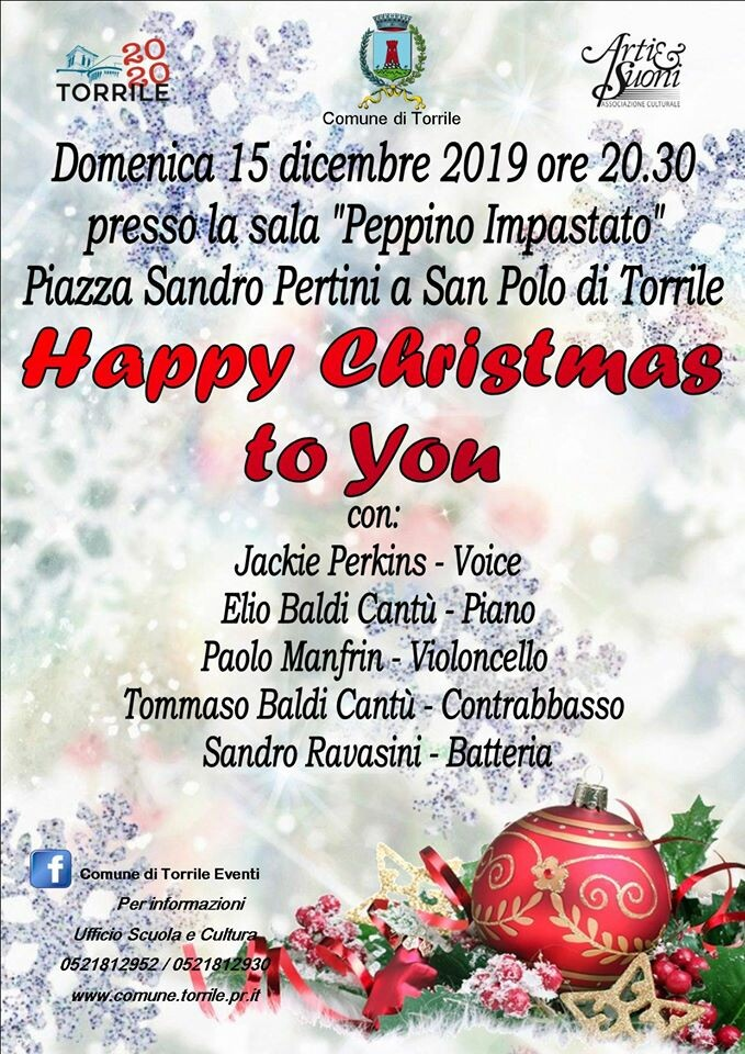 Happy Christams to You - Concerto di Natale
