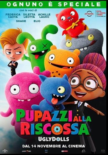 """""""Pupazzi alla riscossa""""  al  cinema Lux"""