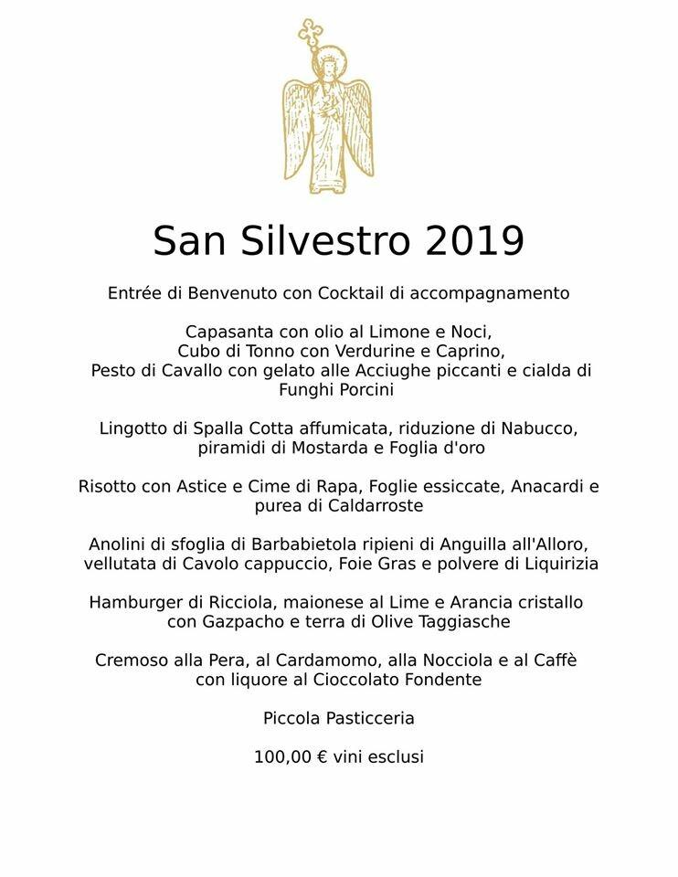 San Silvestro al Ristorante Angiol d'Or