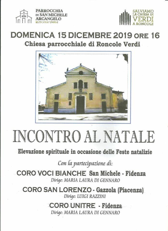 """Salviamo la chiesa del giovane Giuseppe Verdi: concerto """"Incontro al Natale"""""""