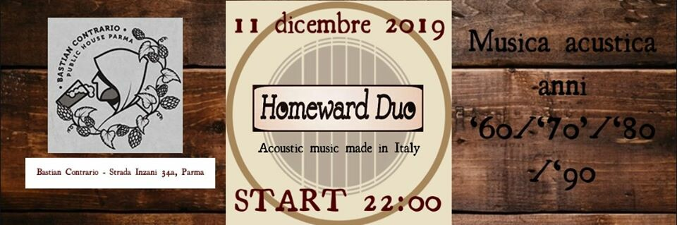Homeward Duo Live @Bastian Contrario