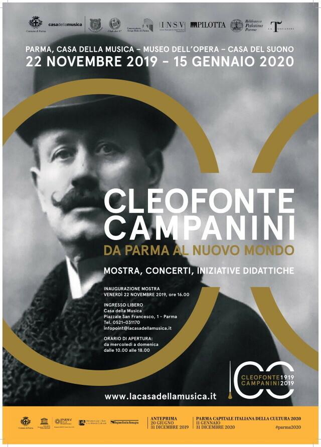 """Uno sguardo d'Oltreoceano   Concerto di allievi e docenti del Conservatorio di musica """"A. Boito""""  dedicato a Cleofonte Campanini"""