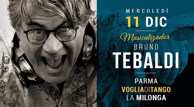 Milonga Voglia di Tango Tdj Bruno Tebaldi