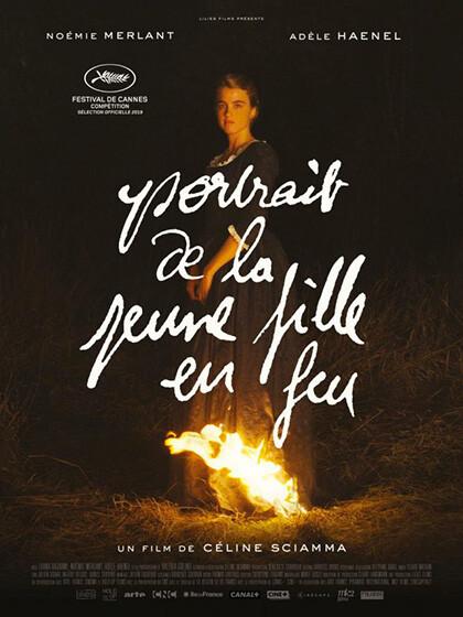 Anteprima nazionale: RITRATTO DELLA GIOVANE IN FIAMME    (Portrait de la  jeune fille en feu ) al cinema Astra Sarà presente la regista