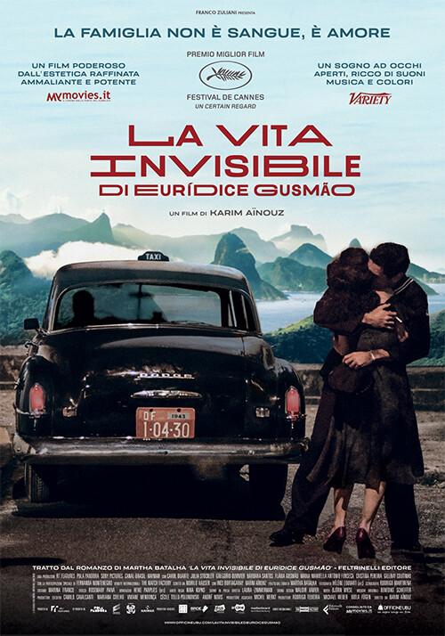LA VITA INVISIBILE DI EURIDICE GUSMAO   di Karim Ainouz al Cinema D'Azeglio