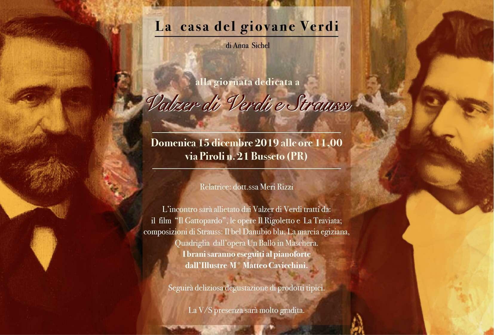 Alla casa del giovane Verdi: valzer di Verdi e Strauss