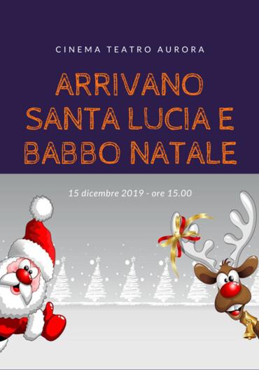 Arrivano Santa Lucia e Babbo Natale al Cinema Teatro Aurora Traversetolo