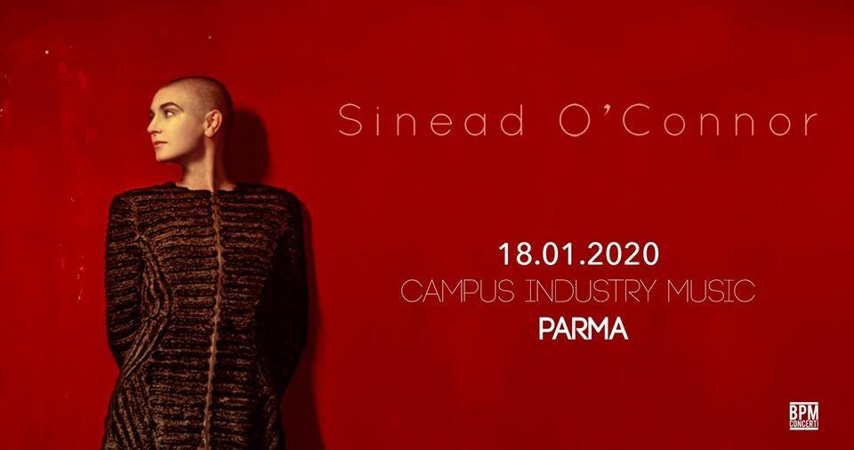 Sinead O'Connor  in concerto a Parma