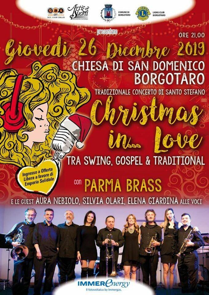 Christmas in Love : Concerto dei Parma Brass