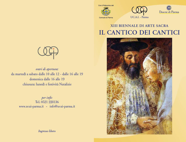 XIII Biennale di Arte Sacra  IL CANTICO DEI CANTICI