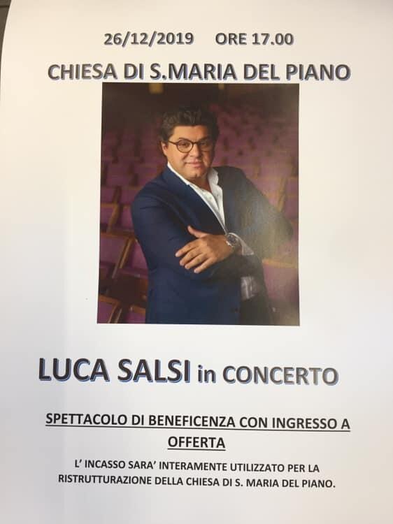 Concerto di Luca Salsi