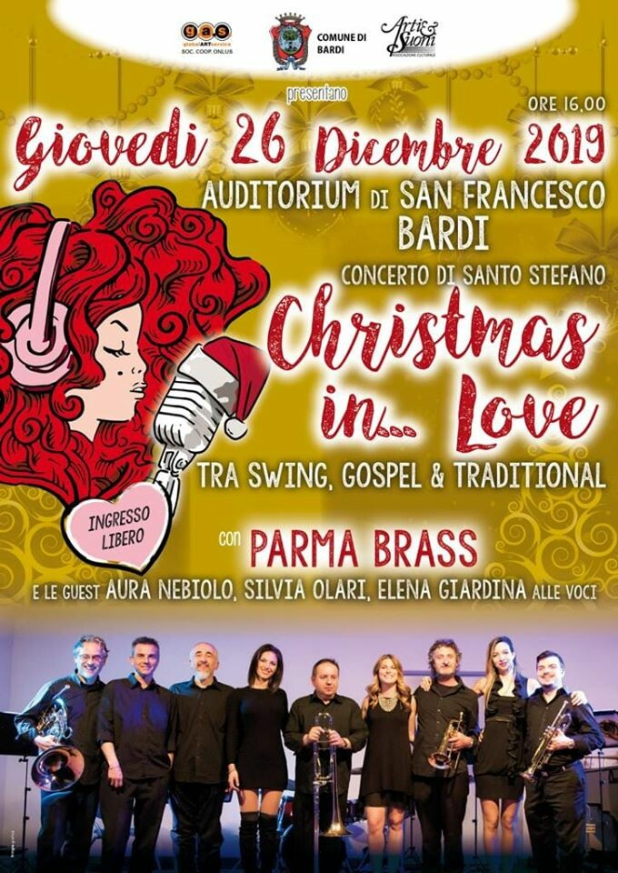 Christmas in love a Bardi con i Parma Brass