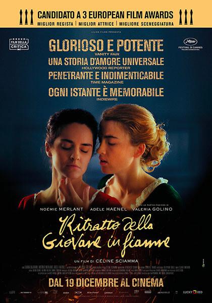 RITRATTO DELLA GIOVANE IN FIAMME  Premio Miglior Sceneggiatura-Festival di Cannes al cinema Astra