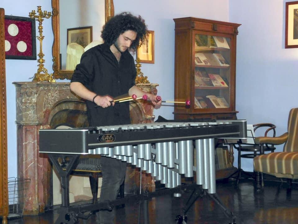"""""""Non solo Marimba"""" Martino Mora in concerto a Sala Baganza"""
