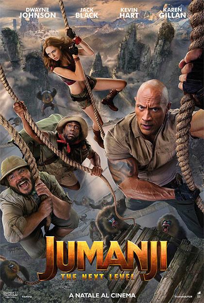 JUMANJI - THE NEXT LEVEL al cinema Grand'Italia