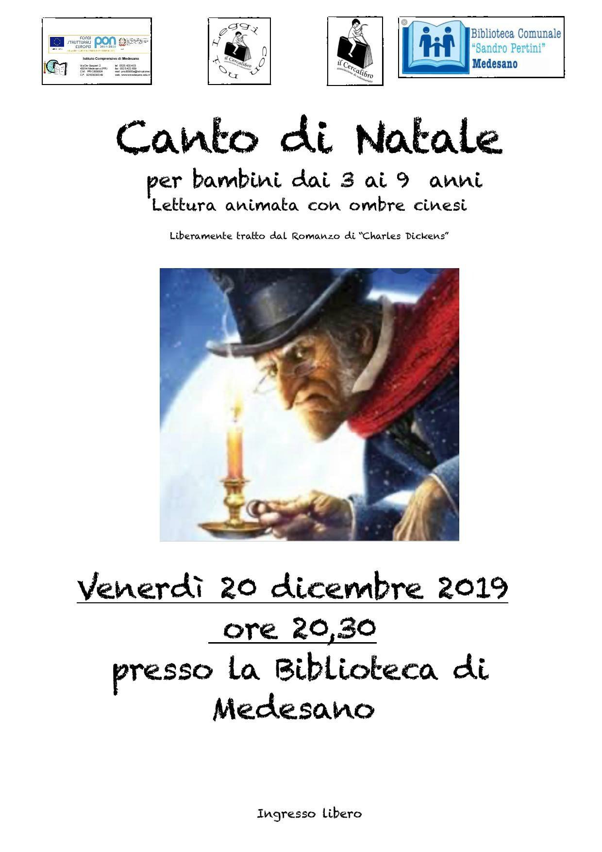 """LA VALIGIA DELLE STORIE: """"CANTO DI NATALE"""""""
