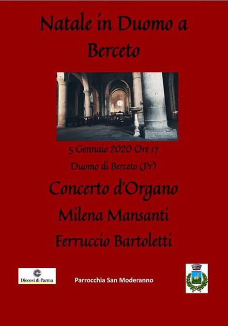 Natale in Duomo a Berceto: concerto d'organo