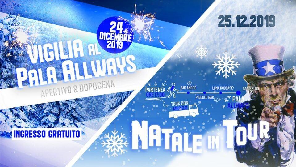 Vigilia & NataleinTour 2019